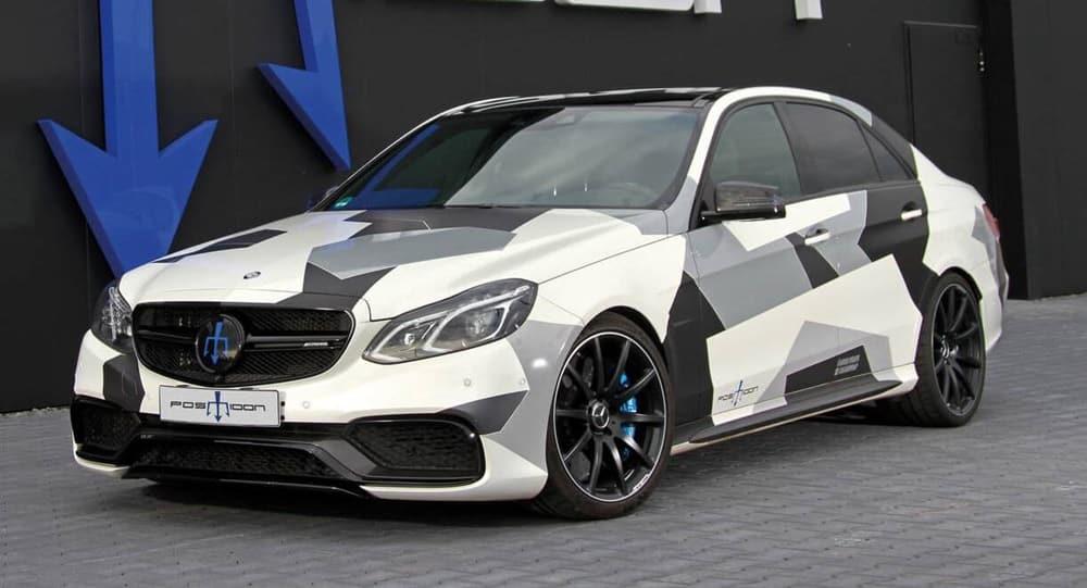 Más de 1.000 CV para el Mercedes-AMG E 63 S de anterior generación: A Posaidon se le ha ido la cabeza