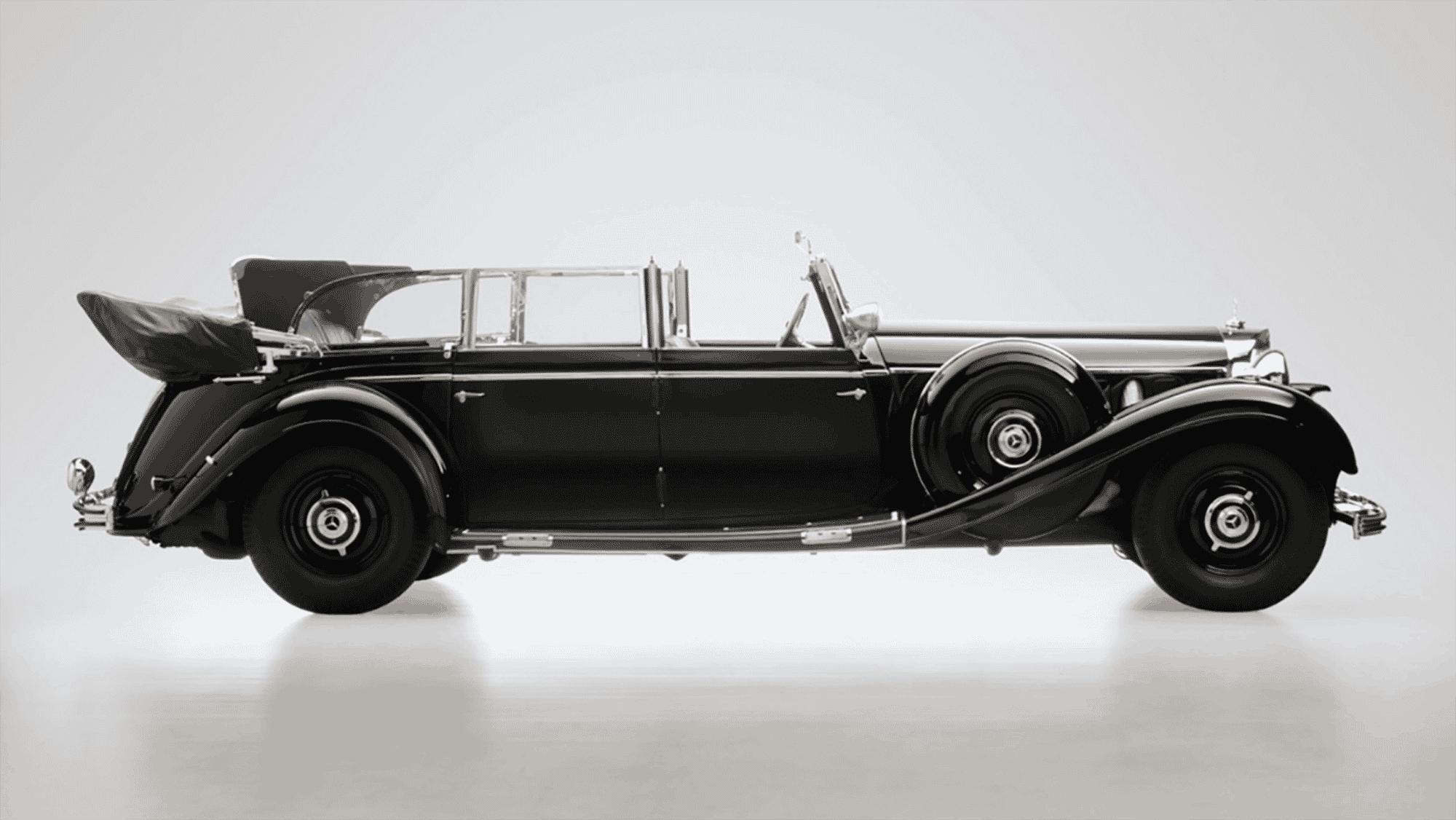 ¿Te gustan los coches históricos? Pues ahora el Mercedes-Benz 770K de Hitler está a subasta