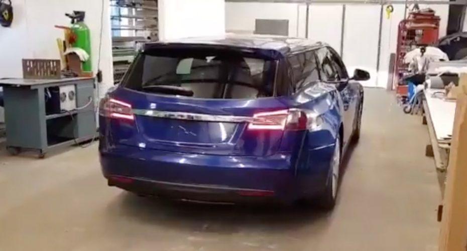 ¿Te imaginas cómo sería un Tesla Model S Shooting Brake? Pues aquí tienes la respuesta…