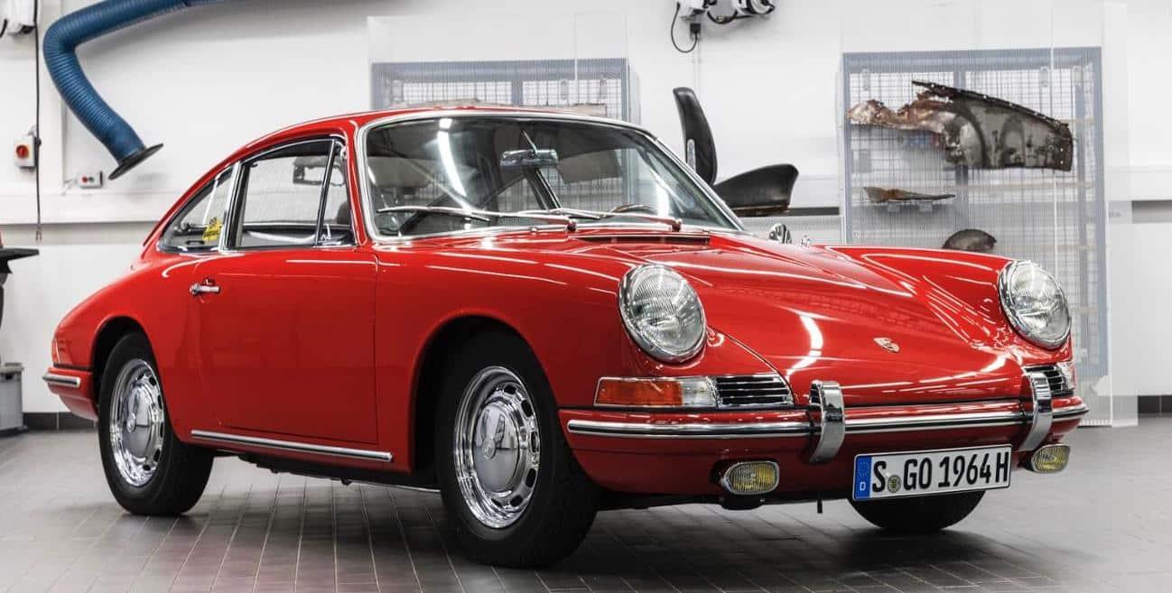 El Número 57 está de vuelta: El Museo Porsche exhibirá ahora el 911 más antiguo