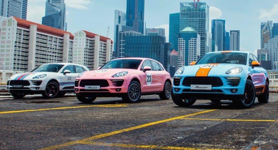 Los colores más míticos de Porsche en la competición, ahora en el Macan