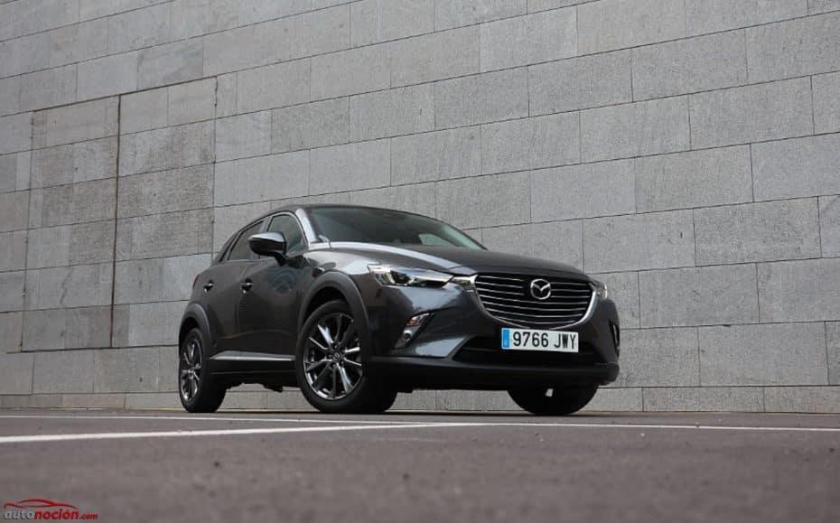 Prueba Mazda CX-3 Senses Edition 2.0 120 CV: Interesante combinación