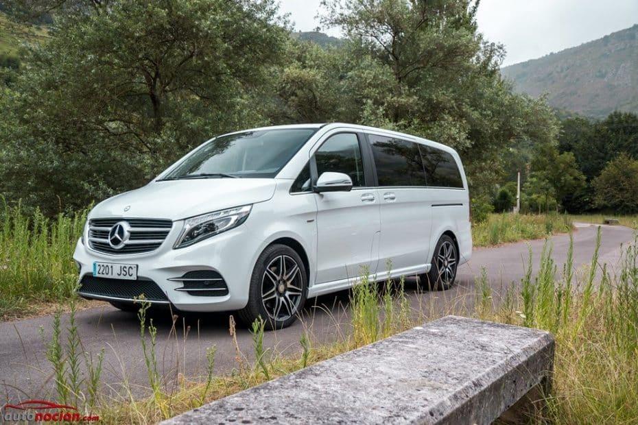 Así van las ventas de MPVs grandes en España: El Clase V sigue sin rival