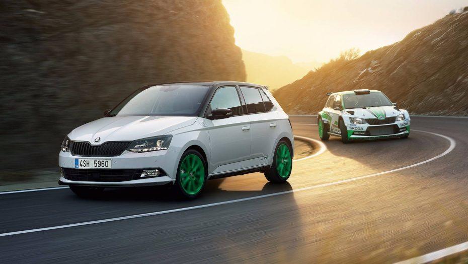 Skoda celebra su victoria en el WRC con un Fabia limitado a 1.300 unidades vestido de rally
