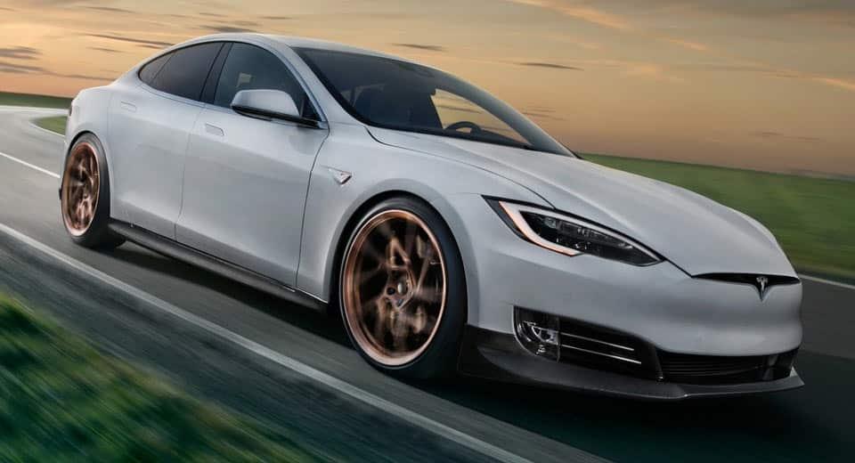 Sutiles mejoras y una dieta rica en fibra para el Tesla Model S P100D de Novitec