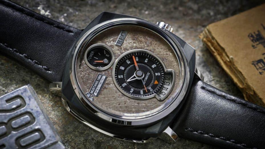 ¿Te imaginas convertir un viejo Mustang en un reloj? Así es el The Ford Mustang Watch