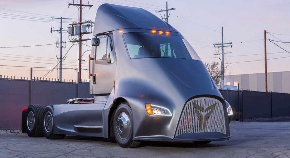 Thor Trucks y el ET-One: Te presentamos un nuevo competidor para el Tesla Semi