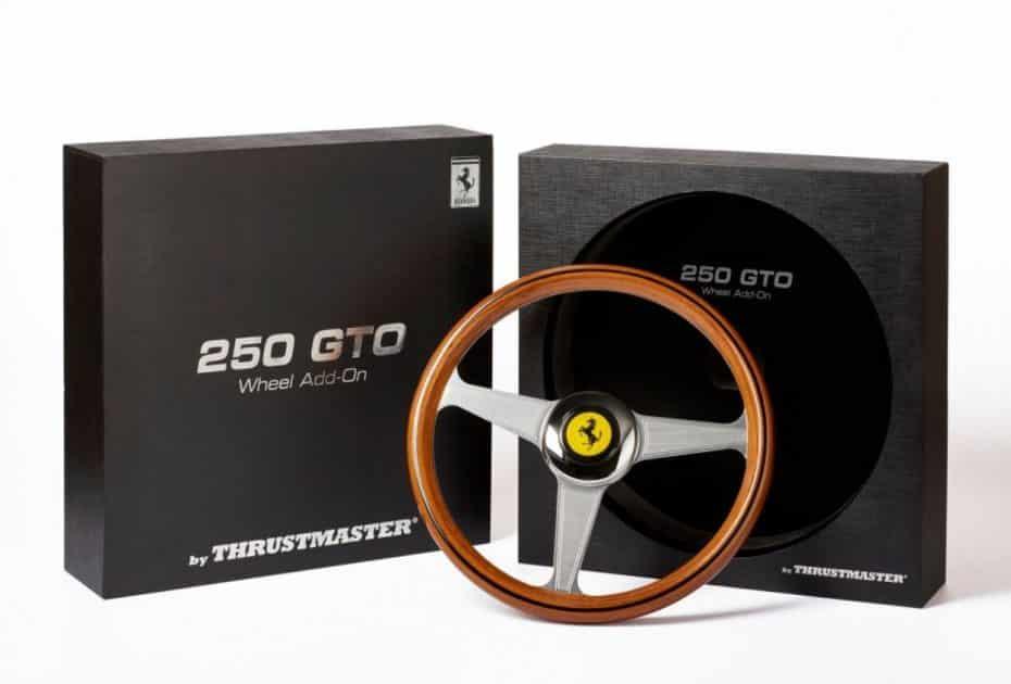¡Atento gamer!: Alucina con esta réplica a escala para que te sientas como en un Ferrari 250 GTO