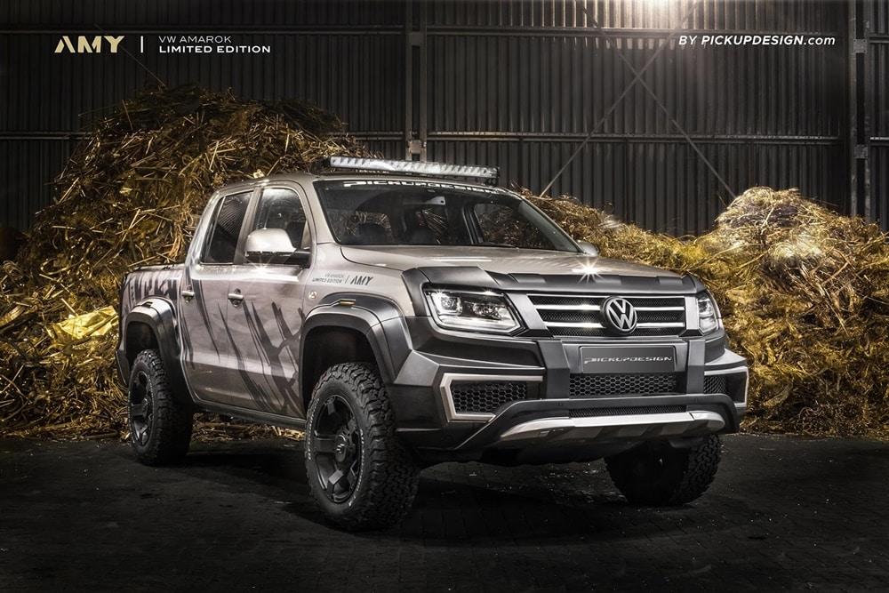 Ojo a este Volkswagen Amarok de Pickup Design: ¿Tenemos un salvaje rival para el Raptor?