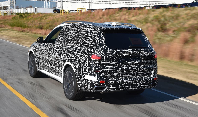 Aquí tienes las primeras imágenes del BMW X7 que llegará a finales de 2018