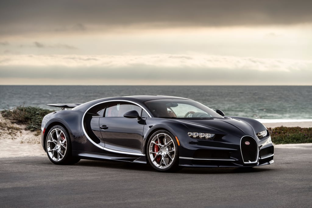 El Bugatti Chiron es todo un éxito: Ya van 300 pedidos, muchos de ellos se quedarán cerca