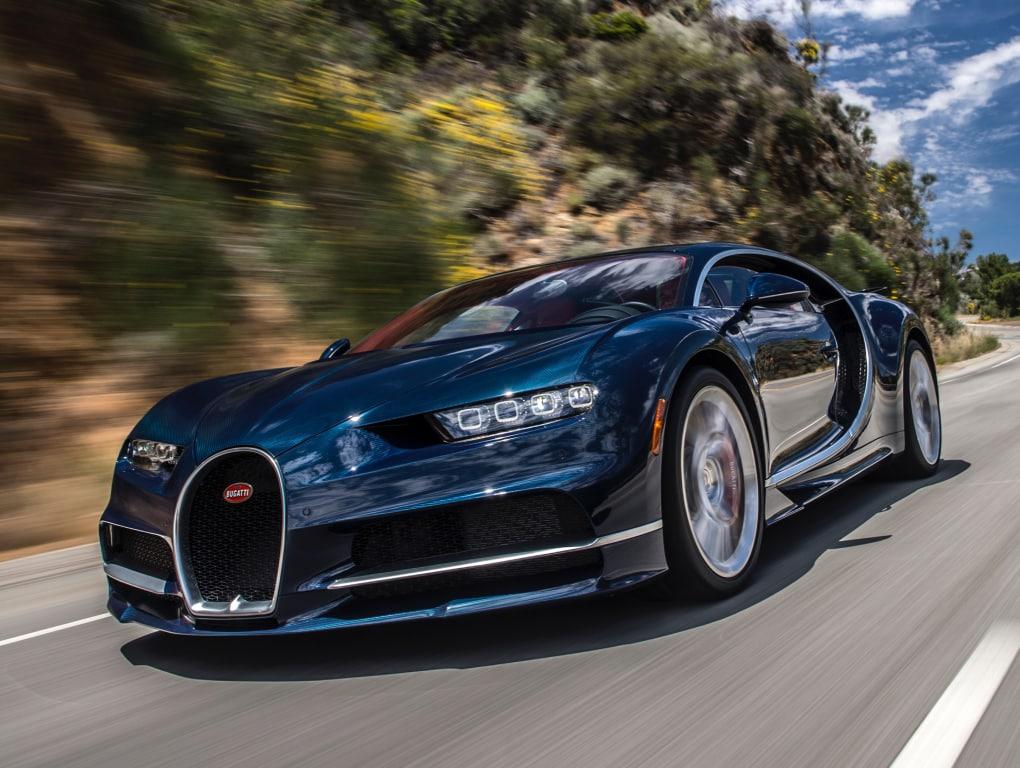 el Bugatti Veyron Super Sport era el coche de producción más rápido del mundo