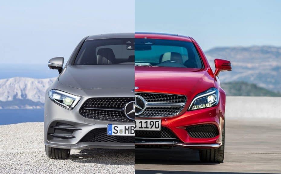 Comparación visual: Juzga tú mismo cuánto ha cambiado el nuevo Mercedes-Benz CLS