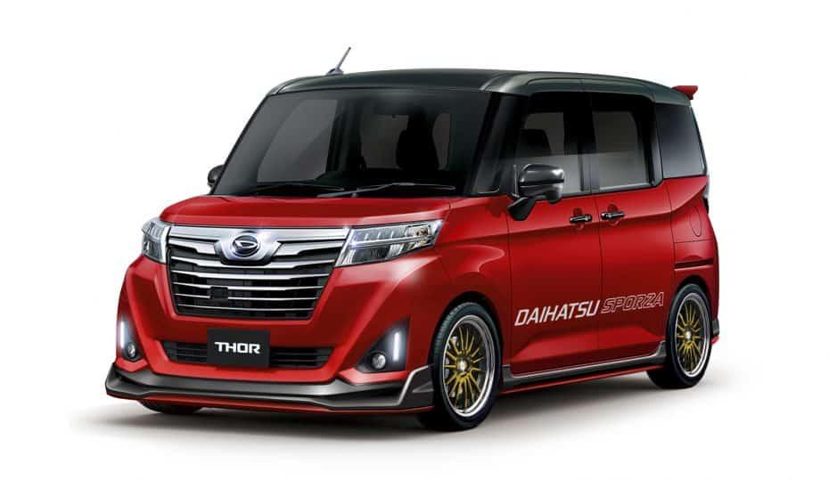 Daihatsu nos enseña sus novedades más tuning para el Salón del Automóvil de Tokio