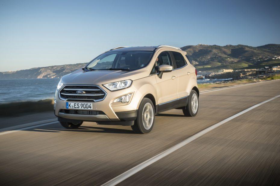 El Ford EcoSport completa su oferta: Tracción total y motores EcoBlue