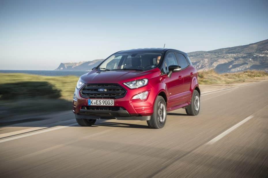 Todos los precios del renovado Ford EcoSport para España