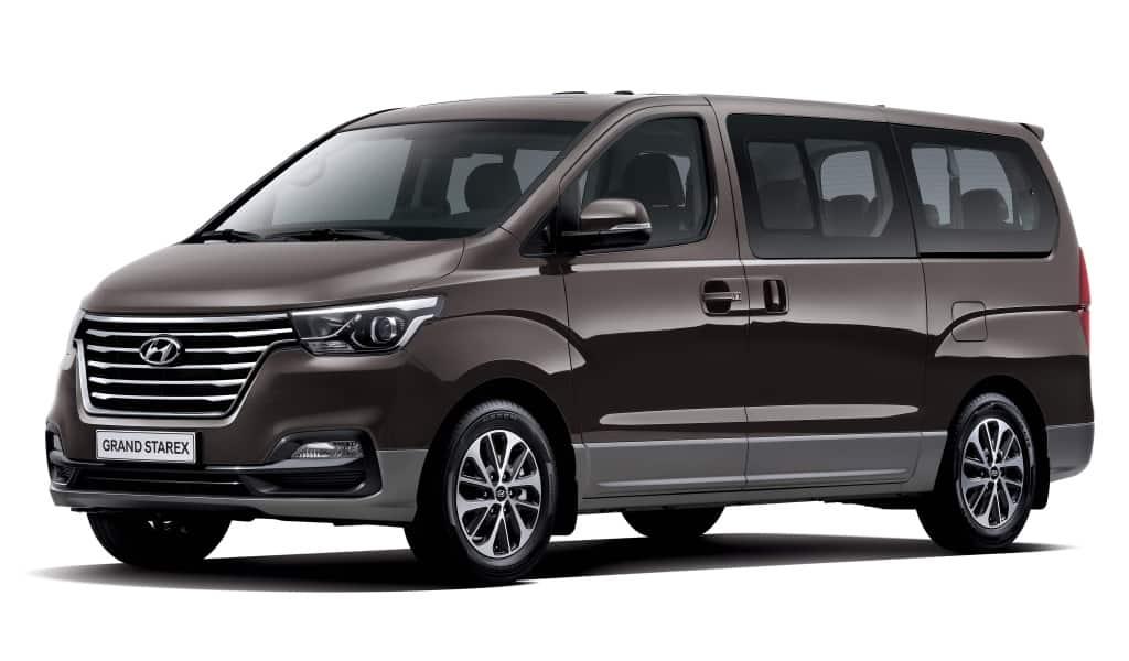 El Hyundai H1 Grand Starex se pone al día: Muy mejorado