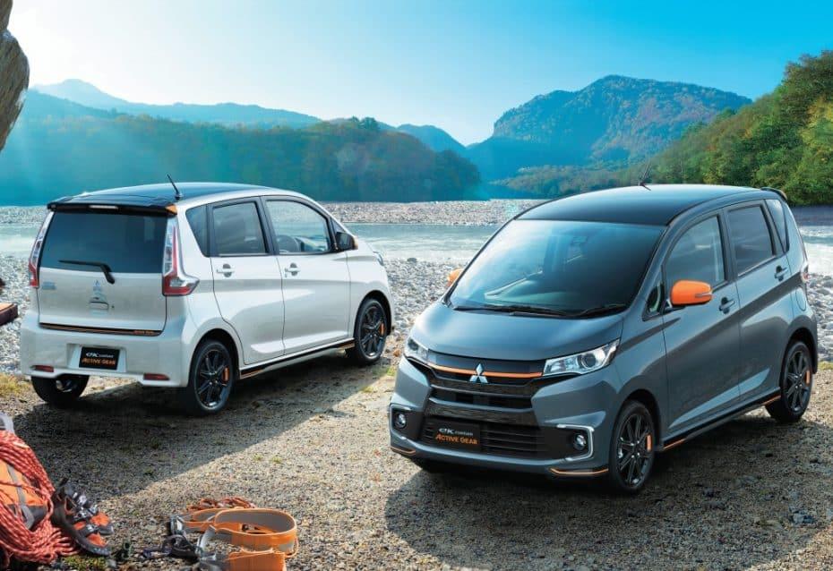 Mitsubishi pone a la venta en Japón los eK «Active Gear»: Un toque de color nunca viene mal