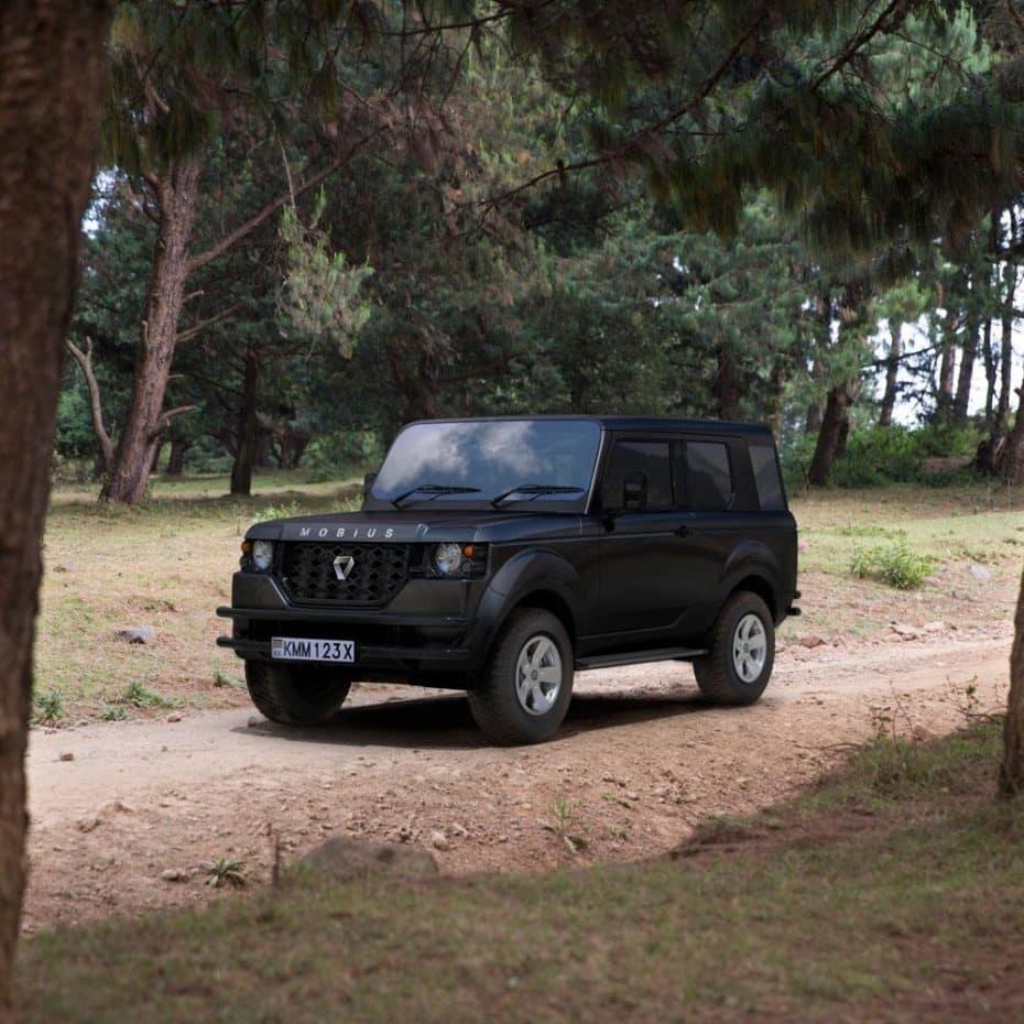 Mobius presenta el «II», el nuevo SUV que debería motorizar Kenia