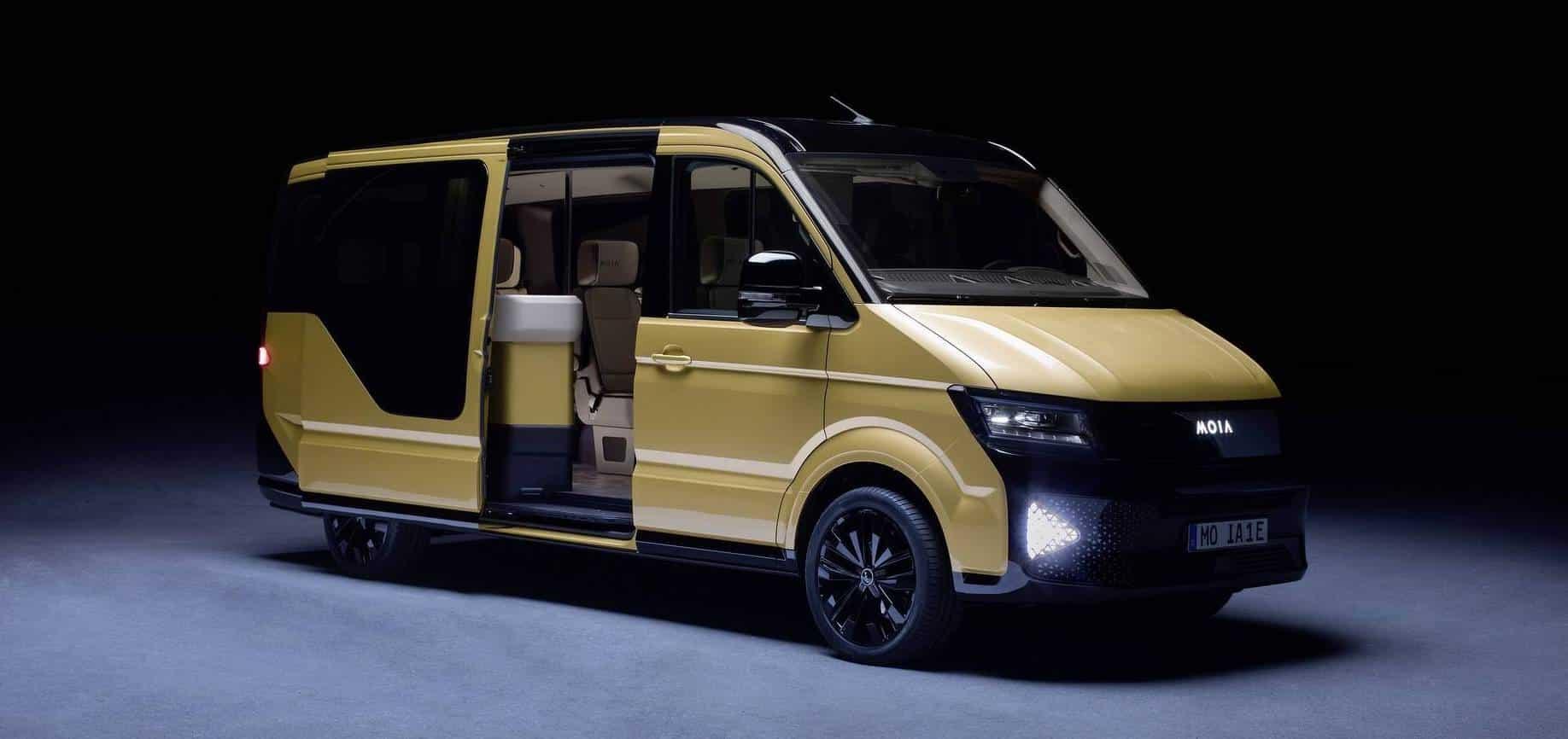 Te presentamos el Volkswagen MOIA: Un concept 100% eléctrico nacido para el car-sharing