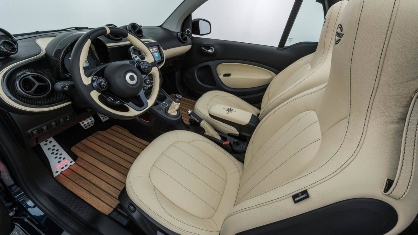 Este Smart tan especial cuesta como un Mercedes C43 AMG: ¿Exagerado?