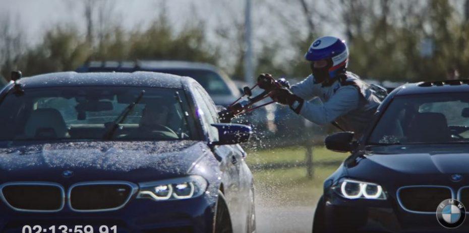 El nuevo BMW M5 logra un récord Guinness tras 8 horas derrapando ¡Y ojo a cómo repostaron!