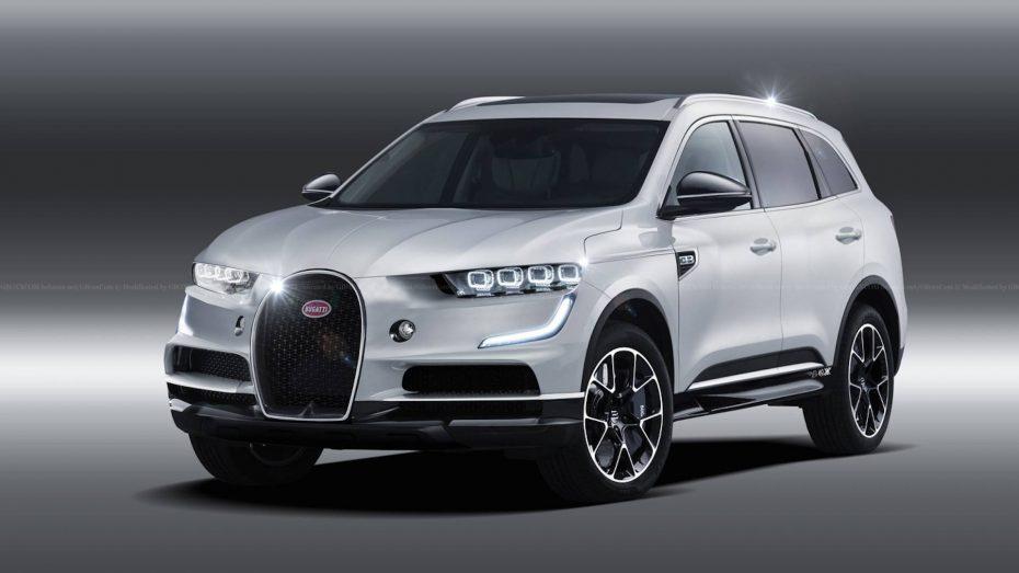 ¿Debería Bugatti crear un SUV? Ojo a estos render porque tienen muy buena pinta…