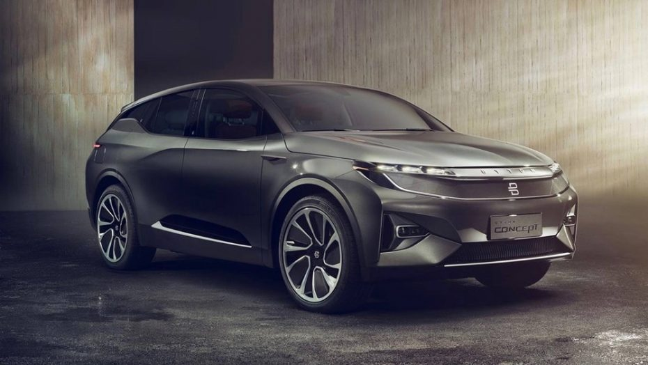 Byton nos muestra su propuesta crossover 100% eléctrica: El Tesla Model X está en el centro de la diana…