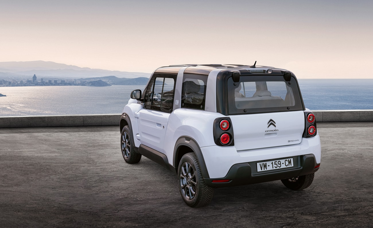 El e-Mehari es otro coche eléctrico de Citroën a bajo precio