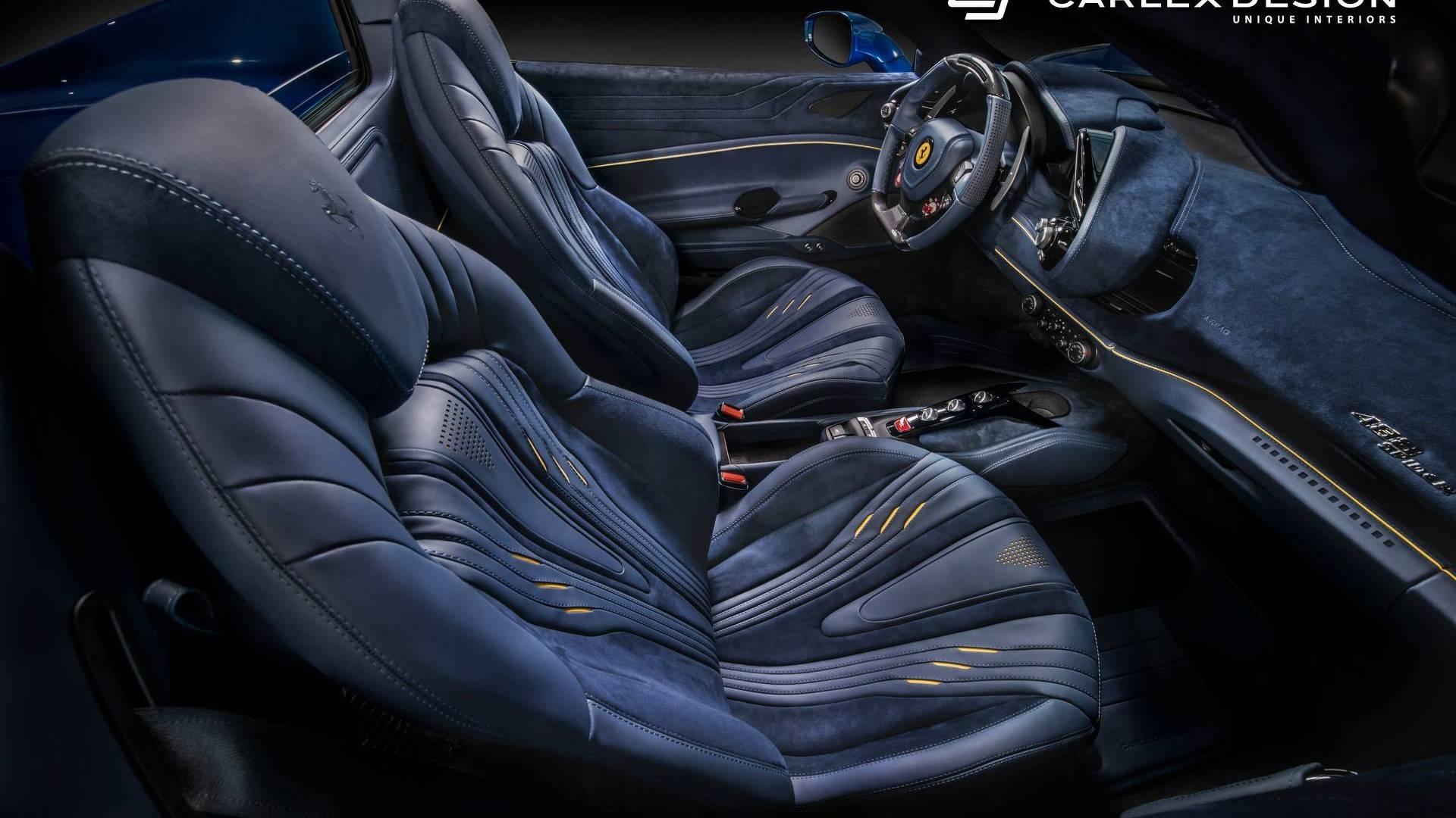 Carlex Design Nos Trae El Interior Mas Opulento Jamas Visto En Un Ferrari 488 Spider Bano De Piel Y Alcantara