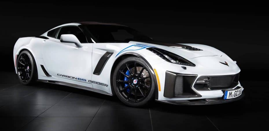 Así es el Chevrolet Corvette Z06 Carbon Edition de Geiger Cars ¡Pura fibra de carbono!