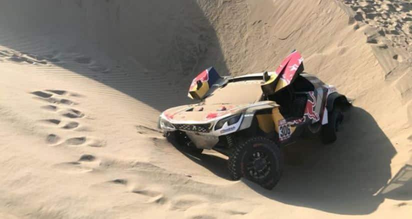 Sébastien Loeb y Daniel Elena también abandonan el Dakar 2018 tras un accidente