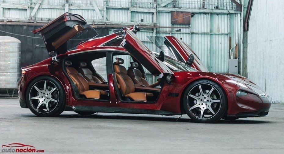 El Fisker EMotion definitivo se ríe de Tesla: 650 km de autonomía y conducción autónoma de nivel 4