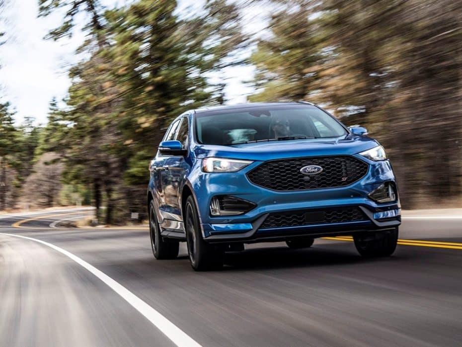 Así es el Ford Edge 2018: Ahora con versión ST de 340 CV ¿La veremos en Europa?