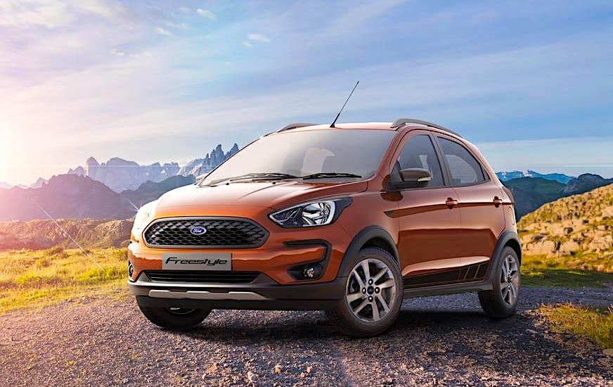 Primeras imágenes del Ford Freestyle, un Ka+ «campero» que llegará a Europa