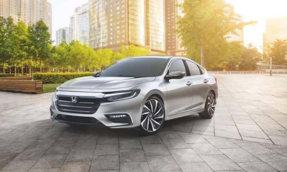 Nuevas imágenes del Honda Insight 2018 antes de su debut: Probablemente no lo verás en Europa