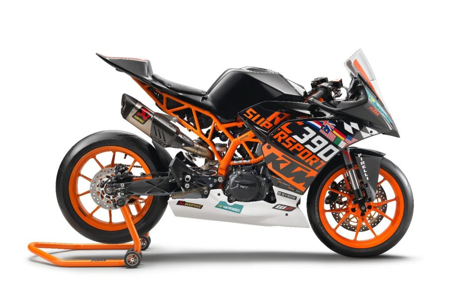 Te presentamos la nueva KTM RC 390 R: Una edición limitada inspirada en la categoría Supersport 300