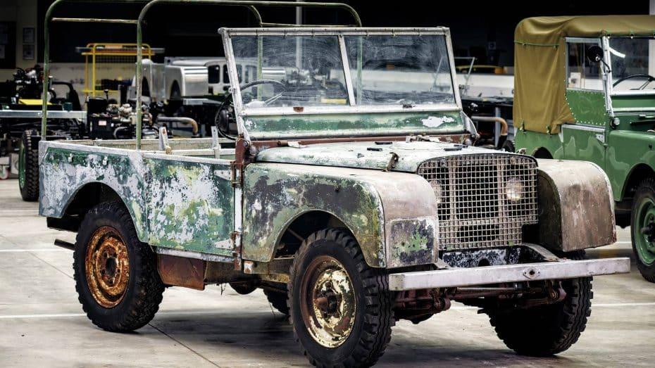 Land Rover celebra su 70º aniversario de una forma muy especial: restaurando el mítico Series I