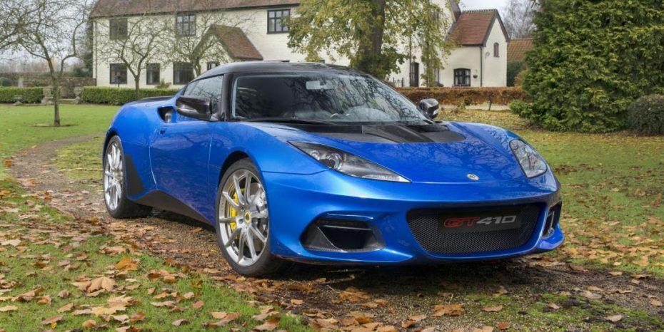 Así es el nuevo Lotus Evora GT410 Sport: Una aerodinámica mejorada con solo 1.256 kg de peso