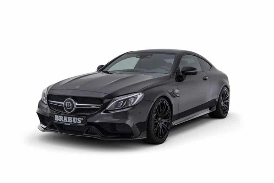 El Mercedes-AMG C63 S Coupé tampoco se escapa de las garras de BRABUS: ¡Hasta 650 CV!