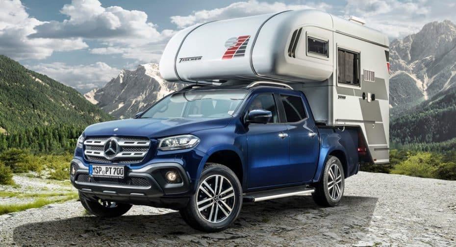 ¿El Mercedes-Benz Clase X convertido en caravana? Ojo a estas propuestas de la marca para viajar