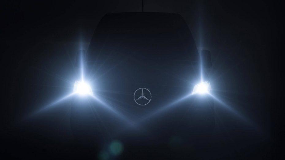 El 6 de febrero conoceremos la nueva Mercedes-Benz Sprinter: Gran calidad interior y mucha tecnología