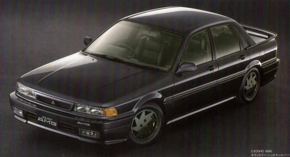 ¿Un Mitsubishi firmado por AMG? Así es la curiosa historia del Galant de 1989