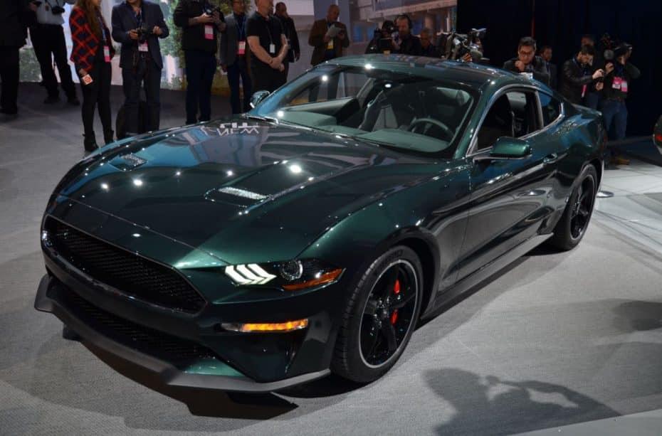 Así es el Ford Mustang Bullit en directo…
