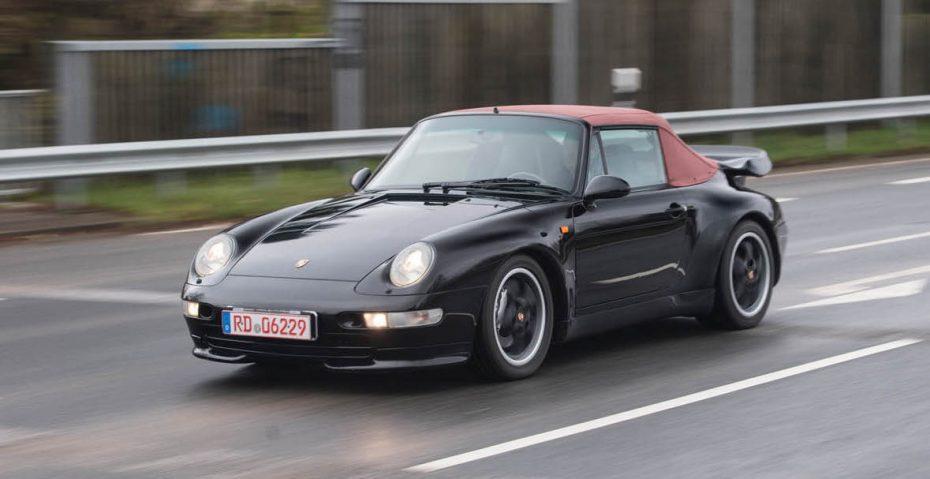 Porsche solo fabricó 14 unidades de este 993 Turbo Cabriolet ¡Y este puede ser tuyo!