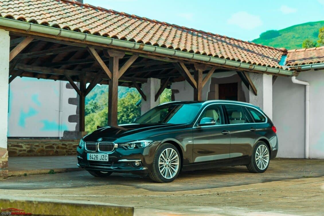 Prueba BMW 318d Touring 8AT Luxury Line: Sí, hay vida más allá de los SUV y es estupenda