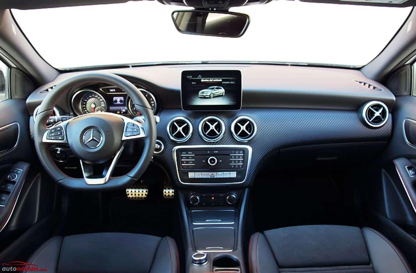 Opini n y prueba mercedes clase a 180 gasolina 122 cv for Interior clase a