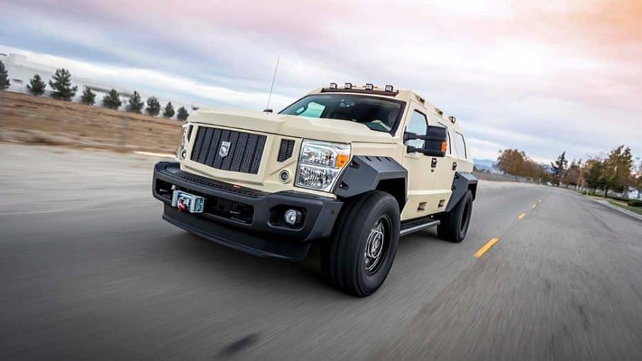 Así es el Rhino GX Executive: Un tanque V10 en el que viajarás rodeado de puro lujo