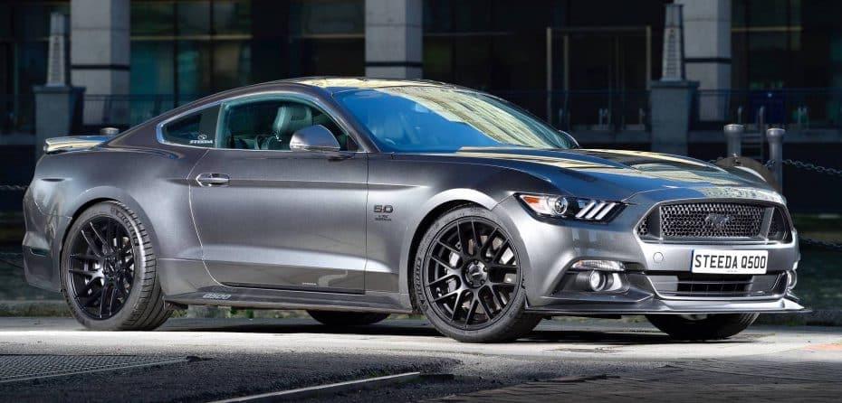 Así es el Steeda Q500 Enforcer: Un Ford Mustang GT más picante y atractivo con 486 CV