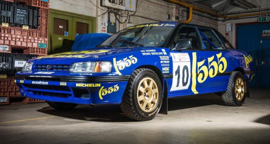 Soñarás con tener este Subaru Legacy WRC del Grupo A que ahora va a ser subastado